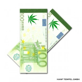 Filter Tips - Hanfblatt Euro
