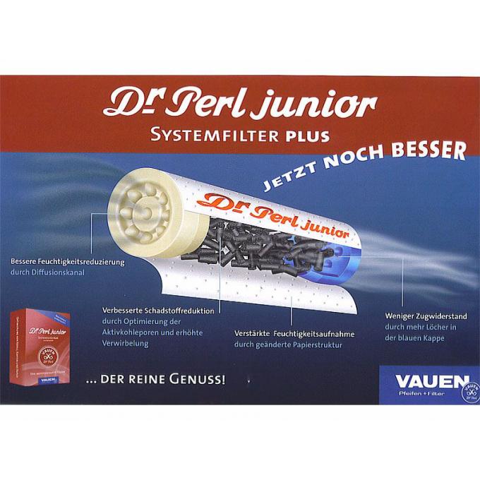 dr perl junior aktivkohlefilter 40 stk auf tempel online kaufen. Black Bedroom Furniture Sets. Home Design Ideas
