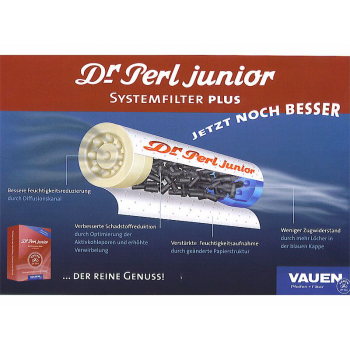 Dr. Perl junior Aktivkohlefilter 10 x 180 Stk