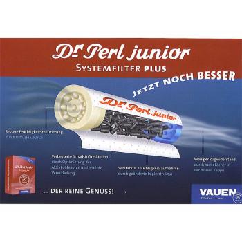 Dr Perl junior Aktivkohlefilter 100 St.