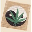 Tabak-Drehhilfe Blatt ca 15 x 15cm