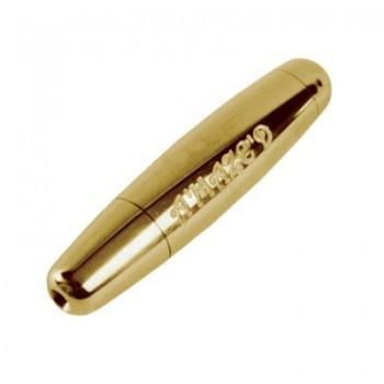 Amazed - Tabakpfeife Gold Messing
