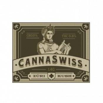 CANNASWISS ZÜRI KUSH - TABAKERSATZ 4G