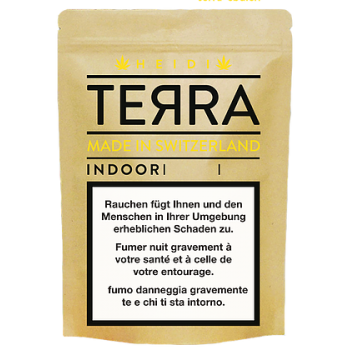 Terra - Heidi Indoor - Tabakersatz - 4.5gr