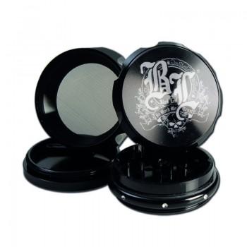 BLACK LEAF CROWN METALGRINDER 4-TEILIG BLACK