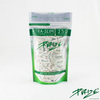 Purize Xtra Slim Size - White - 250 Stück