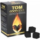 Tom Cococha 1Kg Premium Cocos Kohlewürfel 25mm Gold