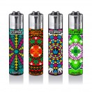 Clipper Feuerzeug Weed Mandela 4er Set