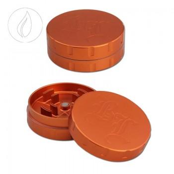 'BL' 'Startrails' Aluminiumgrinder 2-teilig Orange 62mm