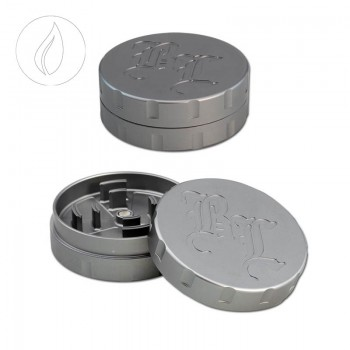 'BL' 'Startrails' Aluminiumgrinder 2-teilig Grau 42mm