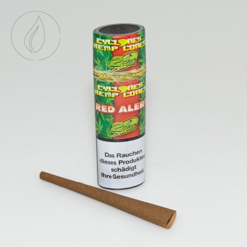 Cyclones Hemp Red Alert 2 in 1 Tube
