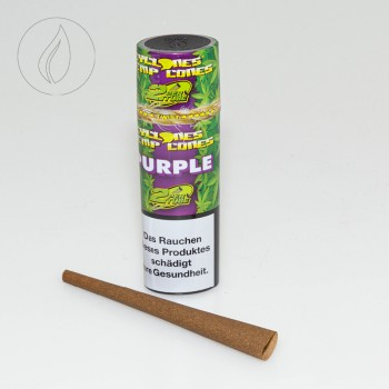 Cyclones Hemp Purple 2 in 1 Tube