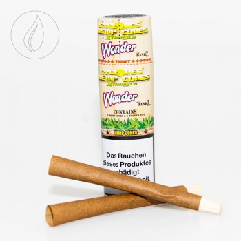 Cyclones Hemp Wonder Xtra Slo 2 in 1 Tube Holzfilter
