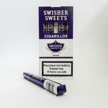 Swisher Sweet Cigarillos Grape 5 Stk