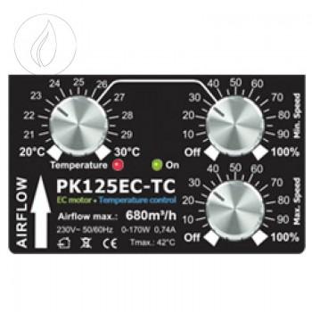 Prima Klima 125mm EC TC 680m3/h