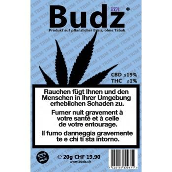 BUDZ PURPLE CBD-HANF TRIM TABAKERSATZ - 20Gr