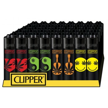 Clipper Classic-WEED SHAPES 4stk