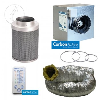 Abluftset Carbon Active Silent Box 1500m3/h 250mm Schallisoliert