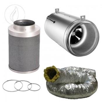 Abluftset ISO-MAX 2380m3/h 315mm Schallisoliert