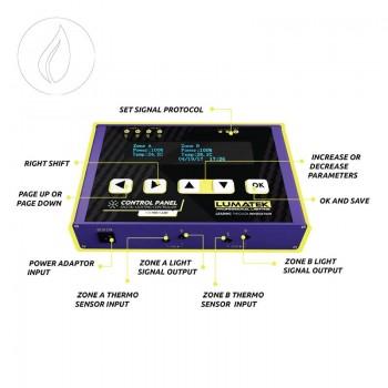 Lumatek Control Panel Plus HID & LED