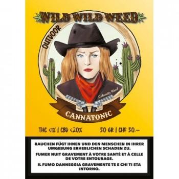 CANNATONIC - WILD WILD WEED - SCHWEIZER CBD BLÜTEN