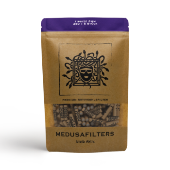 MedusaFilters - 250er Pack - Aktivkohlefilter