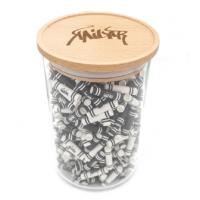 Kailar - 500 Cellulose Slim Hybrid Aktivkohlefilter - Mixed Kailar-Glas - weiss & schwarz
