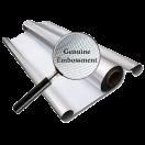 Diamond Silver Reflective Folie 100m  x 1.25m