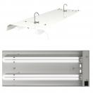 CFL - Anzuchtlampe 2 x 55 Watt für Anzuchtsphase