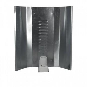 Elektrox Hochglanzreflektor für Energiesparlampen