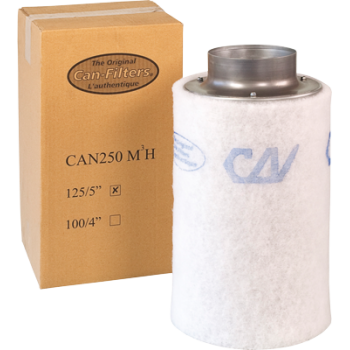 Can2600-Aktiv-Kohlefilter - 160 m3/h/125mm