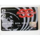 Kreditkartenförmige Papers