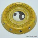 Metallschale - Yin Yang