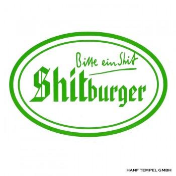 Aufkleber - Shitburger