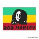 Aufkleber - Bob Marley