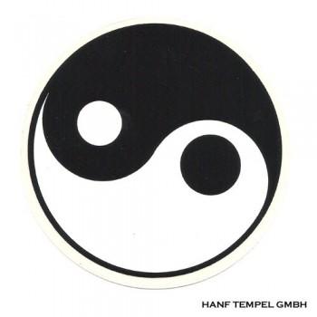 Aufkleber - Yin Yang 8cm