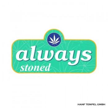 Aufkleber - Always Stoned