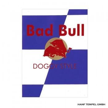 Aufkleber - Bad Bull Doggy Style