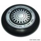 Frisbee - Wurfscheibe - Professional Flyer Disc - Schwarz
