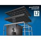 growSYSTEM Aeroponic1.2 / 120x120cm