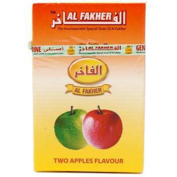 Al-Fakher Wasserpfeifentabak - Two Apple 10 x 50gr