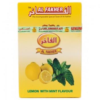Al-Fakher Wasserpfeifentabak - Zitrone mit Minze 10 x 50gr