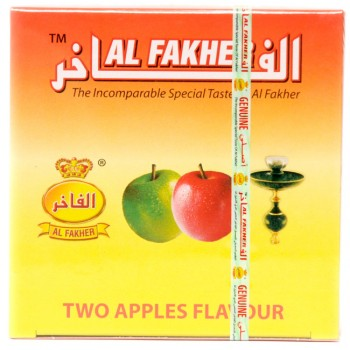 Al-Fakher Wasserpfeifentabak - Two Apple - 250g