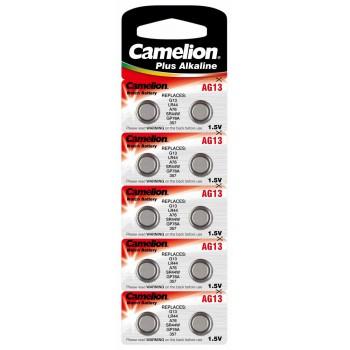 Camelion Plus Alkaline Batterie 1.5V LR44 10Stk