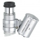 LED Scope, Mini-Mikroskop mit LED-Beleuchtung, Vergrößerung 60x