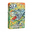 Ed Hardy - Blue Tiger Jumbo Feuerzeug