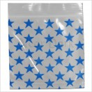 Schnellverschlußbeutel 50 x 50mm 100 Stk Stars