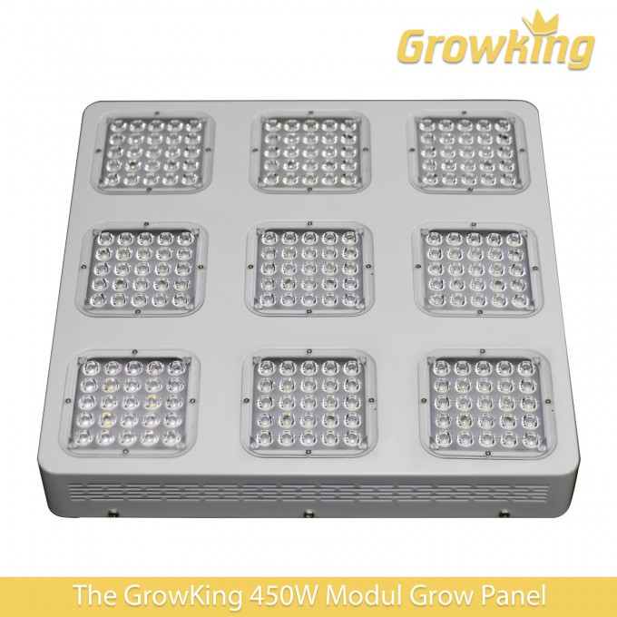 450w led grow modul panel growking auf tempel online kaufen. Black Bedroom Furniture Sets. Home Design Ideas