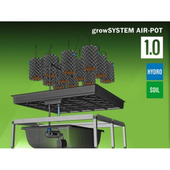 GrowSYSTEM Airpot 1.0 - 100 x 100cm