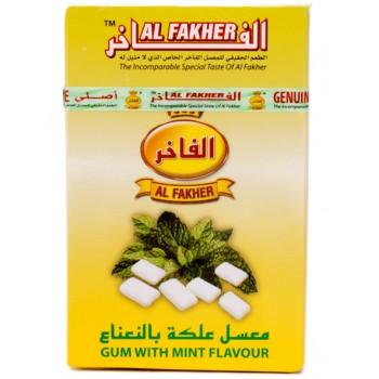 Al-Fakher Wasserpfeifentabak - Gum mit Minze  10 x 50gr